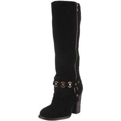 Chinese Laundry Women's Backstreet Knee-High Boot,Black,5.5 M US