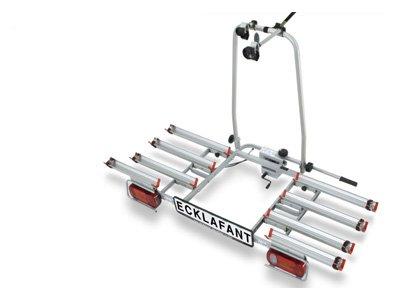 Fahrradträger für die AHK für 4 Räder von