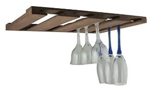 SeaTeak 62425 Overhead Wineglass Rack