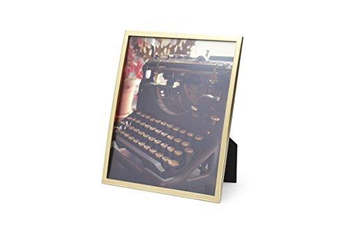 Umbra 306788-221 Senza Cornice 8x10, Ottone Satinato