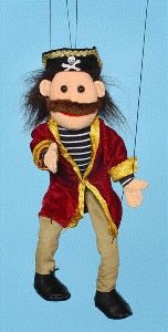 Pirate Marionette from Sunny Puppets