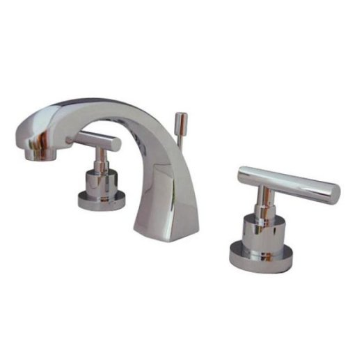 Black Friday Kingston Brass Ks4981cml Concord 8 Inch Widespread Lavatory Faucet Polished Chrome