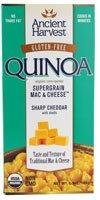 Ancient Harvest Quinoa Supergrain Mac & Cheese Sharp Cheddar -- 6.5 oz