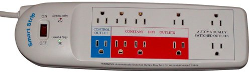 Smart Strip LCG3 Energy Saving Surge Protector with Autoswitching Technology, 10-Outlet