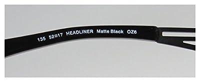 Smith Optics Headliner Mens Vision Care Brand Name Designer Half-rim Flexible Hinges Eyeglasses/Eye Glasses