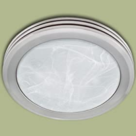 Front. Harbor Breeze HR 80204 Bathroom Fan Brushed Nickel ...