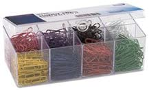 Plastic Coated Paper Clips No 2 Size Assorted Colors 800Pack