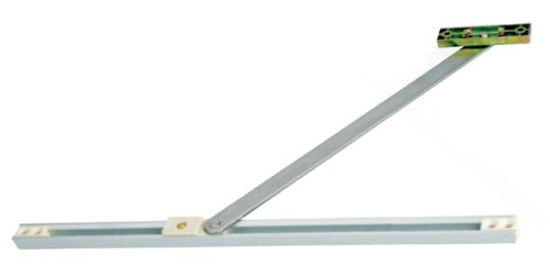 Stops Doors swinging shut! - when itu0027s breezy u0026 Stops Doors swinging too far open - knocking sill end caps off. Adjustable friction - the opening friction ...  sc 1 st  Door Stops & Door Stops: uPVC Door Restrictor Stay. 335mm For uPVC Aluminium ...