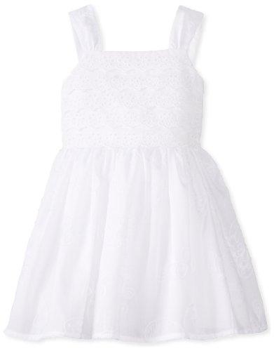 Smocked Childrens Dresses front-143097