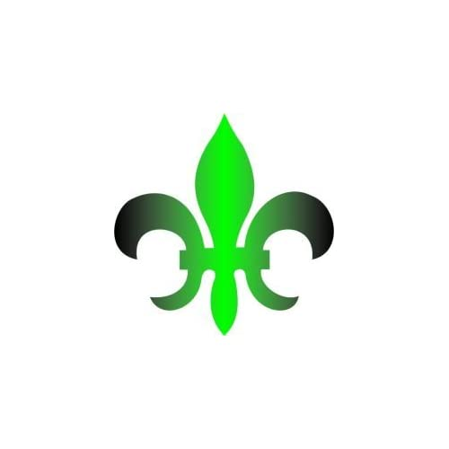 Amazon.com : Tattoo Stencil - Fleur de Lis - #L118