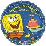 """Spongebob Balloons 18"""" (3 ct) - 1"""