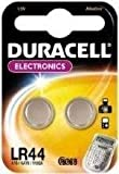 Two (2) x Duracell LR44 76A AG13 157 V13GA RW82 Alkaline Battery 1.5v Blister Packed - Used in Cameras, Toys, Calculators, Torches, Watches, Laser Pointers, and many other applications.
