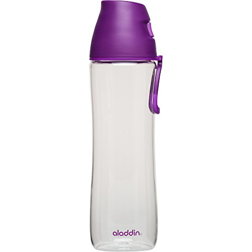 Discover Bargain Aladdin 1-Hand Water Bottle, 24 oz, Berry
