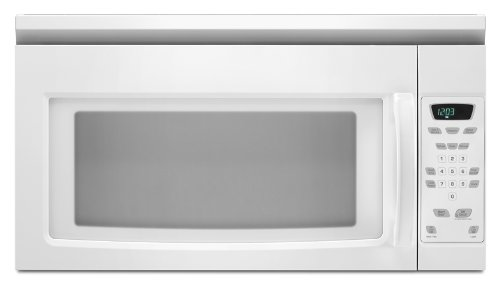 Amana 1.5 cu. ft. Over-the-Range Microwave, AMV1150VAW, White Via Amazon