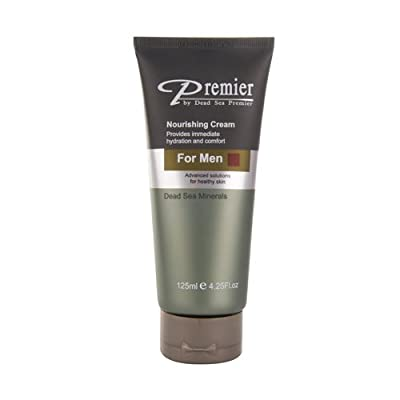 Best Cheap Deal for Premier Dead Sea Nourishing Cream for Men, 4.25-Fluid Ounce by Premier Dead Sea - Free 2 Day Shipping Available