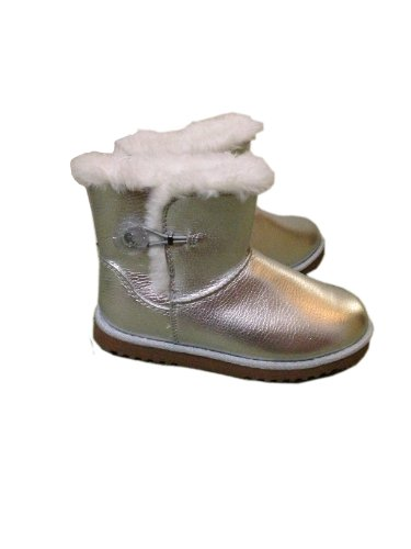 Circo Girl Toddler Suede Gelsey Silver Boot, Size 13 front-977243