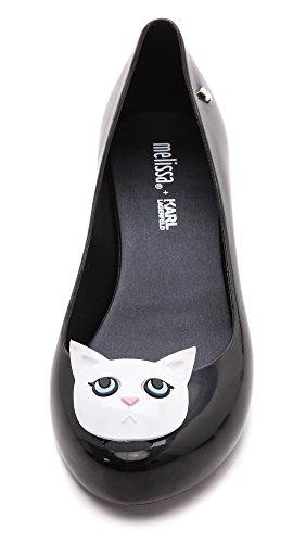 Melissa Women's Melissa + Karl Lagerfeld Ultragirl Cat Flats melissa