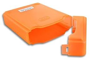 """Orange 3.5""""Portable IDE Sata HDD Boitier Externe Drive Etui Case Disque Dur Protection Plastique"""