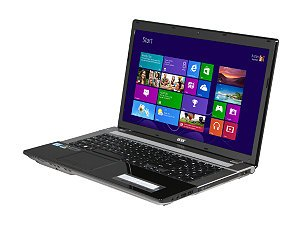 Acer Aspire Laptop / 17.3-inch LED Screen / 3rd Generation Intel Core i7-3632QM Processor / 6GB DDR3 Memory / 750GB Hard Drive / NVIDIA GeForce GT 640M with 2GB Dedicated Graphics / DVD Super Multi / HDMI / USB 3.0 / Bluetooth / Windows 8 (Black)
