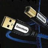 ゾノトーン ピュアオーディオグレードUSBケーブル(1.2m)ZONOTONE 6N・USBグランディオ 6NUSBGRAN2.0-1.2