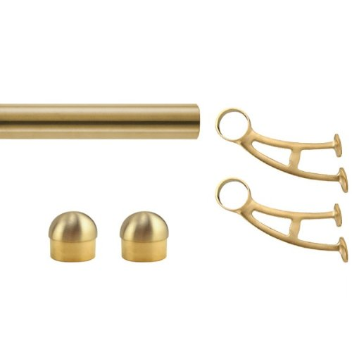 foot rail bracket polished brass buy online foot rail bracke