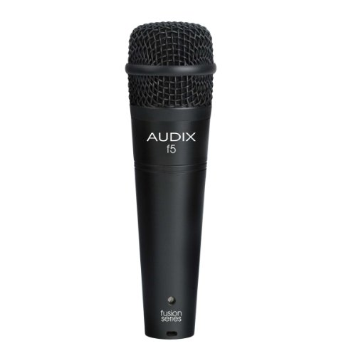 New Audix | High-Performance Fusion Series All-Purpose Dynamic Microphone, F5 With Hypercardioid Pickup Pattern For Isolation And Feedback Control
