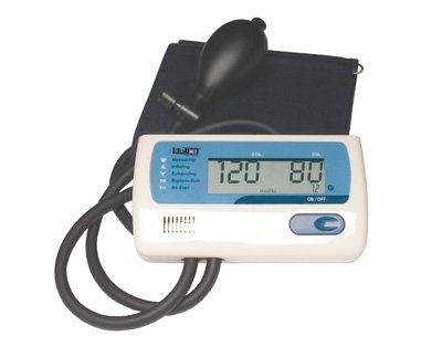 Cheap Digital Blood Pressure Monitor with Manual Inflation Large Adult, 1EA (707A X)