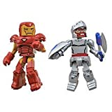 Minimates: Marvel vs Capcom 3 Series 1 Iron Man vs Arthur Action Figure 2-Pack