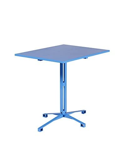 nine6 Bistro Collection Cafe Table, Blue