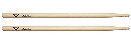 Vater hickory rock baguettes en bois drum buy online for Baguette de bois