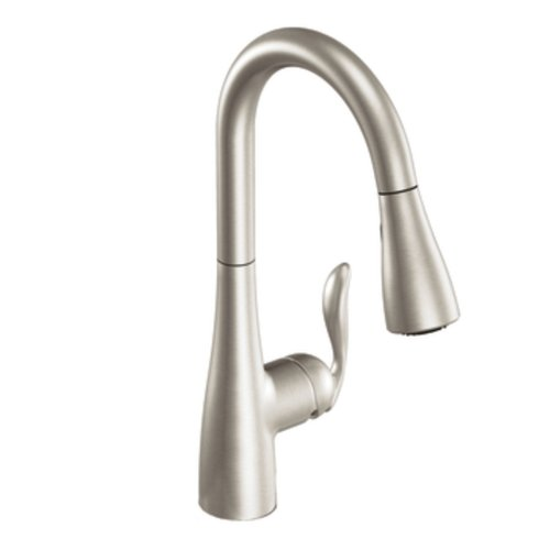 Moen 7594CSL Arbor One-Handle High Arc Pulldown Kitchen Faucet, Classic Stainless