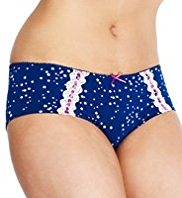 2 Pack Limited Collection High Rise Star Print Shorts