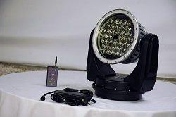 80 Watt Wireless Remote Control Led Spotlight - 12 Volt Dc Or 120-220V Ac - Spot To Flood