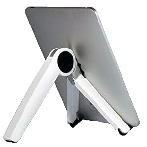 Kickstand Stand Adjustable Handheld Electronics Holder for Apple Ipad, Iphone and other laptop computer below 12