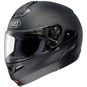 SHOEI MULTITEC FLIP-UP MATTE BLACK SIZE:MED MOTORCYCLE Full-Face-Helmet