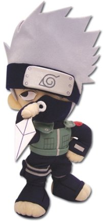 GE Entertainment Naruto 8″ Kakashi Plushie image