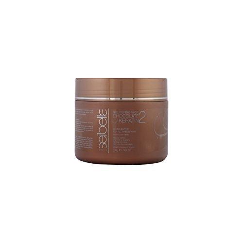 Seibella Queratina - SEIBELLA mask chocolate & keratin 500 ml-unisex