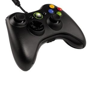 Microsoft Cable Gaming Pad For Pc & Xbox 360, W/Headphone