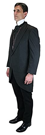 Historical Emporium Mens Traditional Cutaway Coat $165.95 AT vintagedancer.com