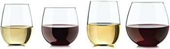 8-Pc. Libbey Vineyard Stemless Glasses