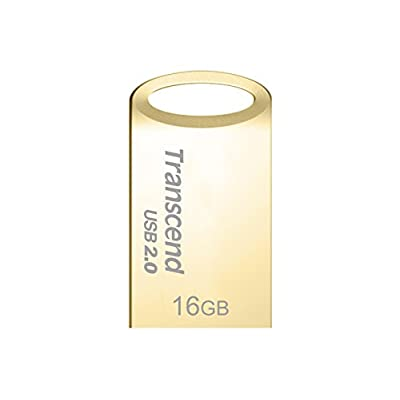 Transcend JetFlash 510 16GB Pen Drive (Gold)