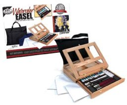 Royal Artist Watercolor Easel Art Set With Easy To Store Bag