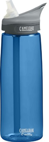 CamelBak Camelbak Eddy Bottle (0.75-Liter/24-Ounce,Navy)