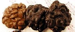 Door County Confectionery Chocolate Nut Clusters, Dark Cashew