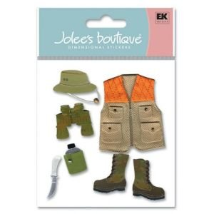 3D JOLEE STIX HUNTER Papercraft, Scrapbooking (Source Book)