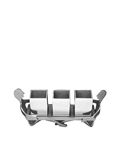 Utensil Caddy, Silver