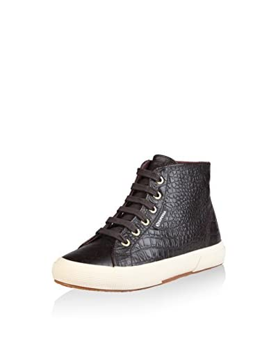 Superga Hightop Sneaker schokolade