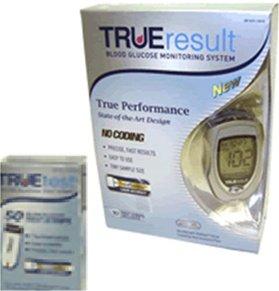 Cheap TRUEresult, Blood Glucose Monitoring System – TRUEtest Strips – Model E3H01-87 – Pkg of 50 (E3H01-87)