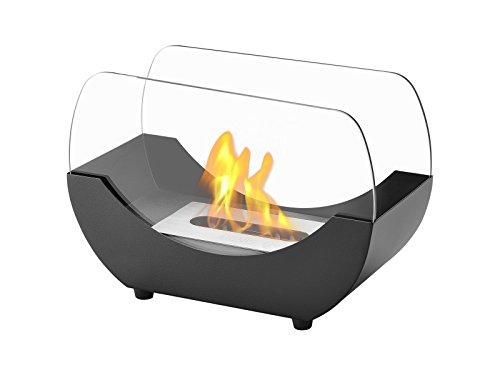 Ignis Transportable Tabletop Ventless Bio Ethanol Fireplace - Liberty (Black)