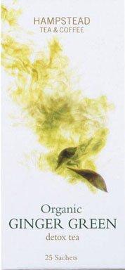Grüner Tee mit Ingwer, Bio